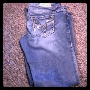Vigoss women's bootcut medium wash jeans